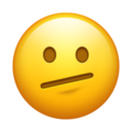 Face with Diagonal Mouth on Emojipedia 14.0