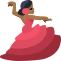 Woman Dancing: Medium-Dark Skin Tone on Facebook 2.2.1