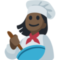 Woman Cook: Dark Skin Tone on Facebook 2.2.1