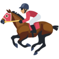 Horse Racing: Medium Skin Tone on Facebook 2.2.1