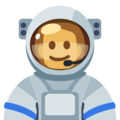 Man Astronaut: Dark Skin Tone on Facebook 2.2.1