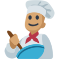 Man Cook: Medium Skin Tone on Facebook 2.2.1