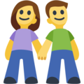 Man and Woman Holding Hands on Facebook 2.2.1