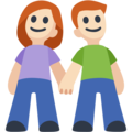 Man and Woman Holding Hands, Type-1-2 on Facebook 2.2.1