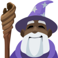 Man Mage: Dark Skin Tone on Facebook 2.2.1