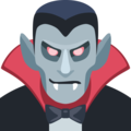 Man Vampire: Medium Skin Tone on Facebook 2.2.1