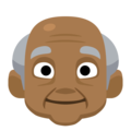 Old Man: Medium-Dark Skin Tone on Facebook 2.2.1