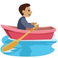 Person Rowing Boat: Medium Skin Tone on Facebook 2.2.1