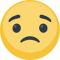 Slightly Frowning Face on Facebook 2.2.1