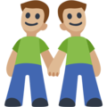 Two Men Holding Hands, Type-3 on Facebook 2.2.1