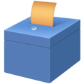 Ballot Box With Ballot on Facebook 3.0