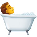 Person Taking Bath on Facebook 3.0