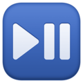 Play or Pause Button on Facebook 3.0