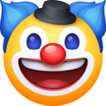 Clown Face on Facebook 3.0