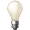 Light Bulb on Facebook 3.0