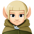 Elf: Light Skin Tone on Facebook 3.0