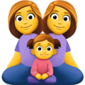 Family: Woman, Woman, Girl on Facebook 3.0