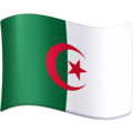 Flag: Algeria on Facebook 3.0