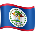 Flag: Belize on Facebook 3.0