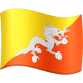 Flag: Bhutan on Facebook 3.0
