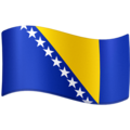Flag: Bosnia & Herzegovina on Facebook 3.0