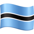 Flag: Botswana on Facebook 3.0