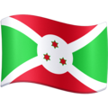 Flag: Burundi on Facebook 3.0