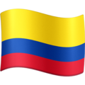 Flag: Colombia on Facebook 3.0