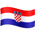 Flag: Croatia on Facebook 3.0