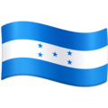 Flag: Honduras on Facebook 3.0
