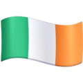 Flag: Ireland on Facebook 3.0