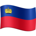 Flag: Liechtenstein on Facebook 3.0