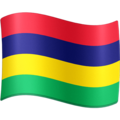 Flag: Mauritius on Facebook 3.0