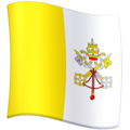 Flag: Vatican City on Facebook 3.0