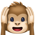 Hear-No-Evil Monkey on Facebook 3.0
