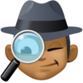 Man Detective: Medium-Dark Skin Tone on Facebook 3.0