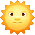 Sun With Face on Facebook 3.0