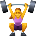 Woman Lifting Weights on Facebook 3.0