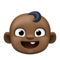 Baby: Dark Skin Tone on Facebook 3.1