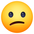 Confused Face on Facebook 3.1