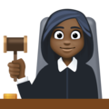 Woman Judge: Dark Skin Tone on Facebook 3.1