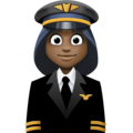 Woman Pilot: Dark Skin Tone on Facebook 3.1