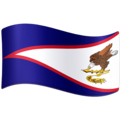 Flag: American Samoa on Facebook 3.1
