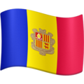 Flag: Andorra on Facebook 3.1