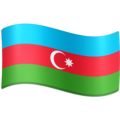 Flag: Azerbaijan on Facebook 3.1