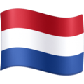 Flag: Caribbean Netherlands on Facebook 3.1
