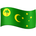 Flag: Cocos (Keeling) Islands on Facebook 3.1