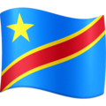 Flag: Congo - Kinshasa on Facebook 3.1