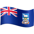 Flag: Falkland Islands on Facebook 3.1