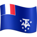Flag: French Southern Territories on Facebook 3.1